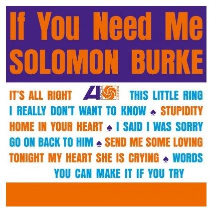 VINYLO.SK | BURKE, SOLOMON - IF YOU NEED ME (LP)180GR