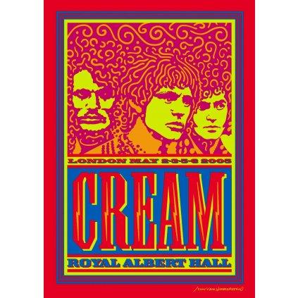 CREAM ♫ ROYAL ALBERT HALL LONDON MAY 2-3-5-6 2005 [2DVD]