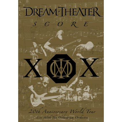 DREAM THEATER ♫ SCORE WORLD TOUR / 20th Anniversary [2DVD]