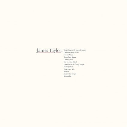 Taylor James ♫ James Taylor's Greatest Hits [CD]