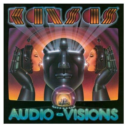 """VINYLO.SK   KANSAS - AUDIO-VISIONS (LP)180GR./INSERT/FT. """"HOLD ON""""/1000 CPS ON TURQUOISE VINYL"""