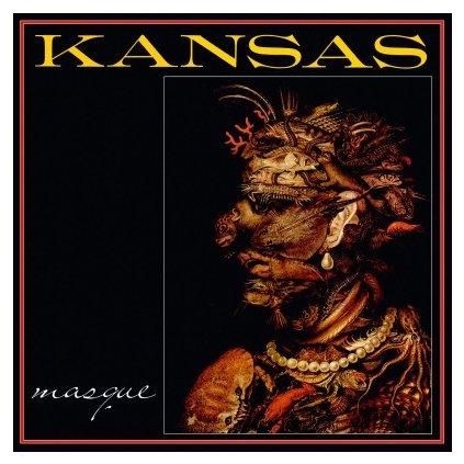 VINYLO.SK | KANSAS - MASQUE (LP)180GR./INSERT/1500 NUMBERED CPS TRANSPARENT RED VINYL
