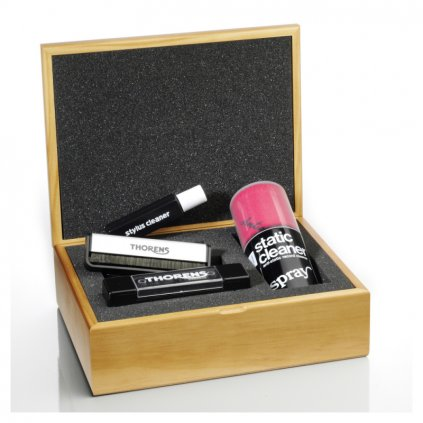 cistiaca sada thorens cleaning set in wooden box