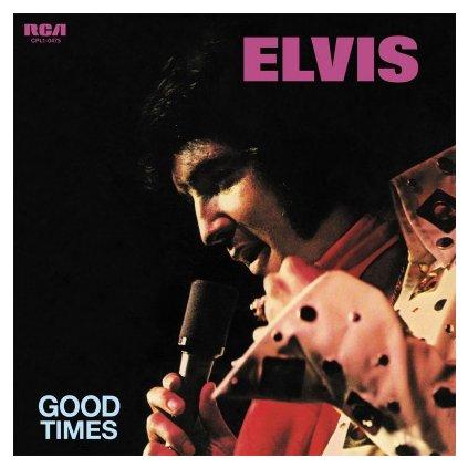 VINYLO.SK | PRESLEY, ELVIS - GOOD TIMES (LP)180GR./45TH ANN./2500 COPIES ON TRANSPARENT BLUE VINYL
