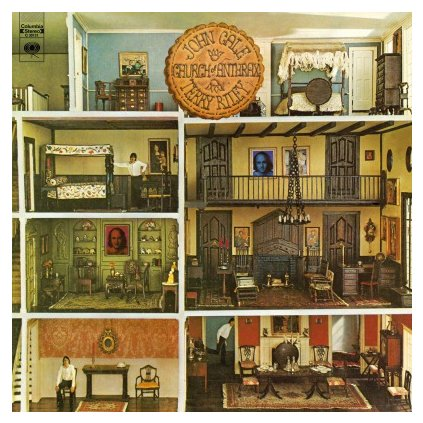 VINYLO.SK | CALE, JOHN & TERRY RILEY - CHURCH OF ANTHRAX (LP)180GR./MASTERPIECE BY CALE (VELVET UNDERGROUND) & RILEY