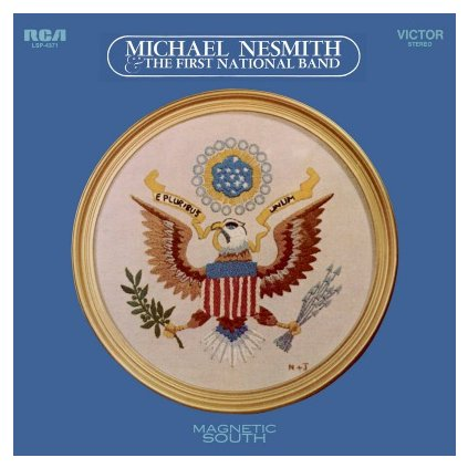 VINYLO.SK   NESMITH, MICHAEL - MAGNETIC SOUTH (LP)180GR./500 NUMBERED COPIES ON TRANSPARENT VINYL