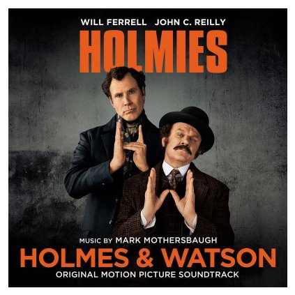 VINYLO.SK | OST - HOLMES & WATSON (LP)180GR/4P BOOKLET/MARK MOTHERSBAUGH/500 CPS ORANGE VINYL