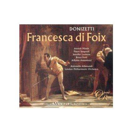 VINYLO.SK | ALLEMANDI, ANTONELLO ♫ DONIZETTI: FRANCESCA DI FOIX [CD] 0792938002828
