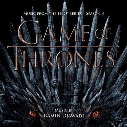 VINYLO.SK | OST / DJAWADI, RAMIN ♫ GAME OF THRONES - SEASON 8 (MUSIC FROM THE HBO SERIES) [2CD] 0794043200489