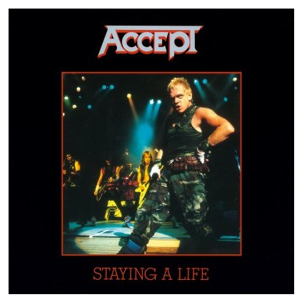 VINYLO.SK | ACCEPT - STAYING A LIFE (2LP)180GR./GATEFOLD/INSERT/30TH ANN/1500 CPS SMOKE-COLOURED
