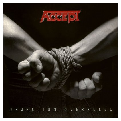 VINYLO.SK | ACCEPT - OBJECTION OVERRULED (LP)..OVERRULED//180GR/2000CPS SILVER & BLACK SWIRLED VINYL