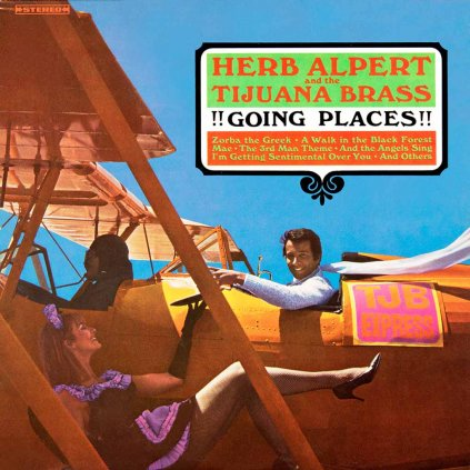 VINYLO.SK | ALPERT, HERB & THE TIJUANA BRASS ♫ !!!GOING PLACES!!! [LP] 0814647020327