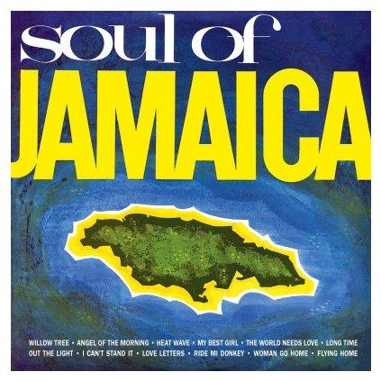 VINYLO.SK | V/A - SOUL OF JAMAICA (LP)180GR./750 NUMBERED COPIES ON ORANGE VINYL