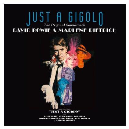 VINYLO.SK | OST - JUST A GIGOLO (LP)180GR./DAVID BOWIE & DIETRICH/3000 CPS TRANSPARENT BLUE