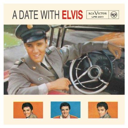 VINYLO.SK | PRESLEY, ELVIS - A DATE WITH ELVIS (LP)180GR/GATEFOLD/60TH ANN/2000 CPS TRANSPARENT BLUE VINYL