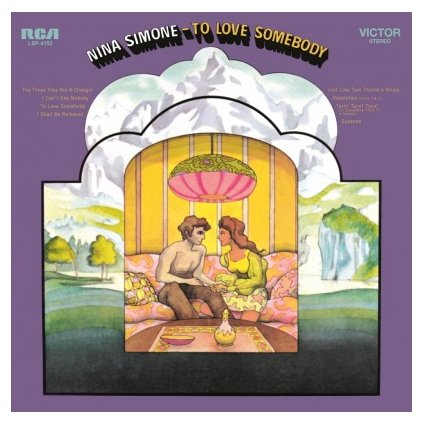 VINYLO.SK | SIMONE, NINA - TO LOVE SOMEBODY (LP)180GR./50TH ANN./1500 CPS ON PURPLE & BLACK MARBLED