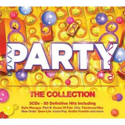 VINYLO.SK   RÔZNI INTERPRETI ♫ PARTY - THE COLLECTION [3CD] 0825646213856