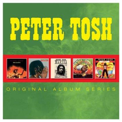VINYLO.SK | TOSH, PETER ♫ ORIGINAL ALBUM SERIES [5CD] 0825646285273