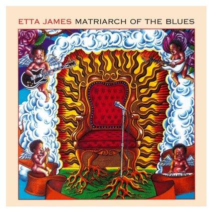 VINYLO.SK   JAMES, ETTA - MATRIARCH OF THE BLUES (LP)180GR./INSERT/20TH ANN./FIRST TIME ON VINYL
