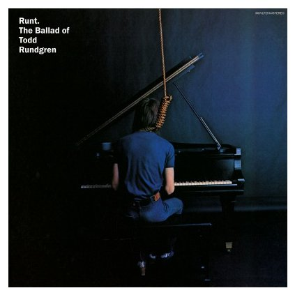 VINYLO.SK | RUNDGREN, TODD - RUNT. THE BALLAD OF TODD RUNDGREN (LP)..OF TODD RUNDGREN/180GR/1000CPS TRANSPARENT BLUE VINYL