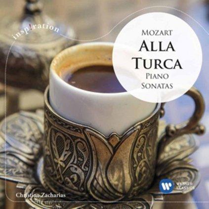 VINYLO.SK   ZACHARIAS, CHRISTIAN ♫ INSPIRATION: MOZART: ALLA TURCA – PIANO SONATAS [CD] 0825646489923