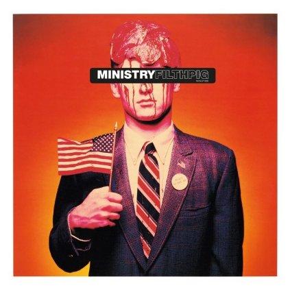 VINYLO.SK | MINISTRY - FILTH PIG (LP)180GR./INSERT/1500 CPS ON BLUE MARBLED VINYL