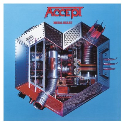 VINYLO.SK | ACCEPT - METAL HEART (LP)180GR./INSERT/BLACK VINYL