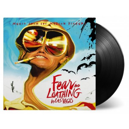 VINYLO.SK | OST - FEAR AND LOATHING IN LAS VEGAS [2LP] 180g GATEFOLD / ETCHED D-SIDE