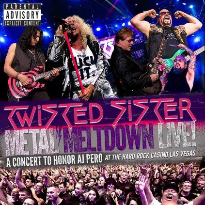 VINYLO.SK | TWISTED SISTER ♫ METAL MELTDOWN [CD + DVD + Blu-Ray] 0858135004819