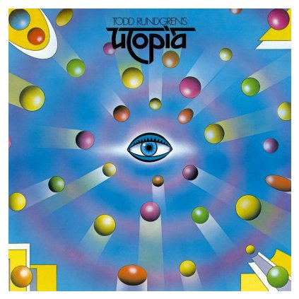 VINYLO.SK | UTOPIA - TODD RUNDGREN'S UTOPIA (LP)..UTOPIA//180GR./1000 COPIES ON BLUE MARBLED VINYL
