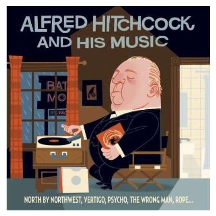 VINYLO.SK | OST ♫ ALFRED HITCHCOCK & HIS MUSIC [2CD] 3299039943724