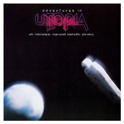 VINYLO.SK | UTOPIA - ADVENTURES IN UTOPIA (LP).. UTOPIA//180GR./GATEFOLD/1000 COPIES ON SILVER VINYL