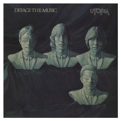 VINYLO.SK | UTOPIA - DEFACE THE MUSIC (LP)180GR./GATEFOLD/500 NUMBERED COPIES ON SILVER VINYL