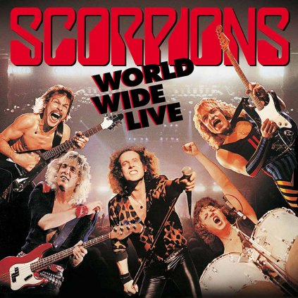 VINYLO.SK | SCORPIONS ♫ WORLD WIDE LIVE [2LP + CD] 4050538150193