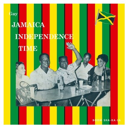 VINYLO.SK | V/A - GAY JAMAICA INDEPENDENCE TIME (LP).. INDEPENDENCE TIME//180GR./750 COPIES ON ORANGE VINYL