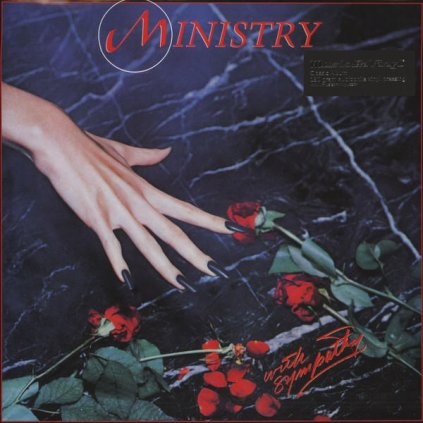 VINYLO.SK | MINISTRY - WITH SYMPATHY [LP] 180g INSERT / 1983 DEBUT-ALBUM / BLACK VINYL