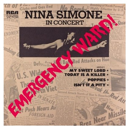 VINYLO.SK | SIMONE, NINA - EMERGENCY WARD (LP)180GR./INSERT/1972 ALBUM/1000 CPS TRANSPARENT RED VINYL