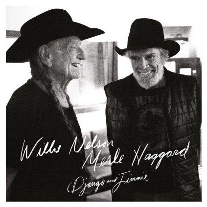 VINYLO.SK | NELSON, WILLIE/MERLE HAGGARD - DJANGO AND JIMMIE (2LP)180GR./GATEFOLD/1000 CPS BLACK & SILVER MARBLED VINYL