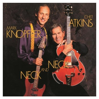 VINYLO.SK | ATKINS, CHET/MARK KNOPFLE - NECK AND NECK (LP)180GR/30TH ANN/2000 NUMBERED CPS TRANSPARENT BLUE VINYL