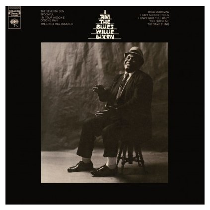 VINYLO.SK | DIXON, WILLIE - I AM THE BLUES (LP)180GR./50TH ANN./1500 CPS ON TRANSPARENT BLUE VINYL
