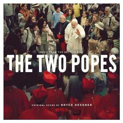 VINYLO.SK | OST - TWO POPES (LP)180GR./PRINTED INNER/BRYCE DESSNER/1000 CPS WHITE VINYL