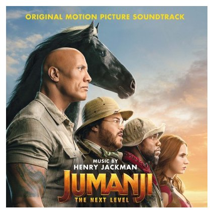 VINYLO.SK | OST - JUMANJI: THE NEXT LEVEL (2LP)..LEVEL//180GR./GATEFOLD/EXTRAS/500 CPS SAND COLOURED