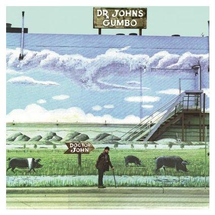 VINYLO.SK | DR. JOHN - DR. JOHN'S GUMBO (LP)180GR./GATEFOLD/INSERT/1500 CPS TURQUOISE MARBLED VINYL