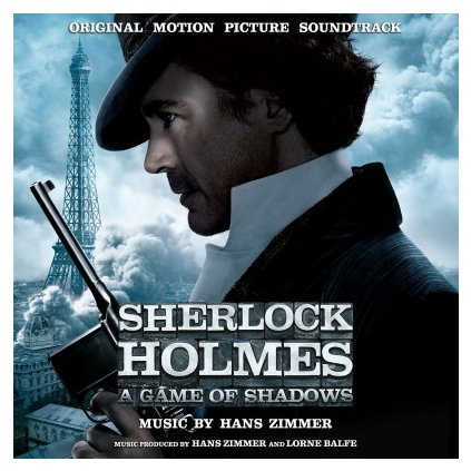 VINYLO.SK | OST - SHERLOCK HOLMES-GAME OF SHADOWS (2LP)..GAME OF SHADOWS/180GR/500 CPS ON SMOKE-COLOURED VINYL