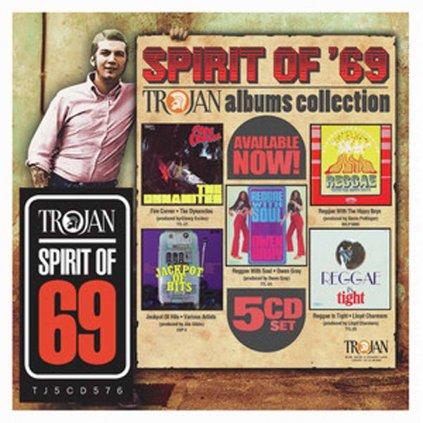 VINYLO.SK   RÔZNI INTERPRETI ♫ SPIRIT OF 69: THE TROJAN ALBUMS COLLECTION [5CD] 4050538473384