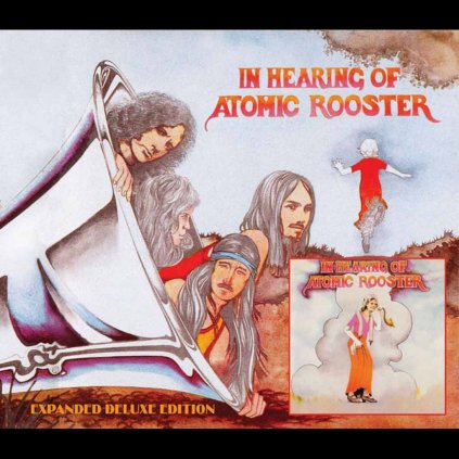 VINYLO.SK | ATOMIC ROOSTER ♫ IN HEARING OF ATOMIC ROOSTER [CD] 5050159192625