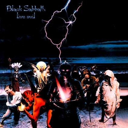 VINYLO.SK | BLACK SABBATH ♫ LIVE EVIL [CD] 5050749207425