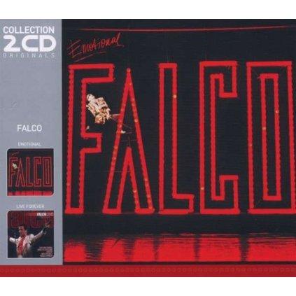 VINYLO.SK | FALCO ♫ EMOTIONAL / LIVE FOREVER [2CD] 5053105406920