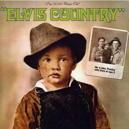 VINYLO.SK | PRESLEY, ELVIS - ELVIS COUNTRY [CD]