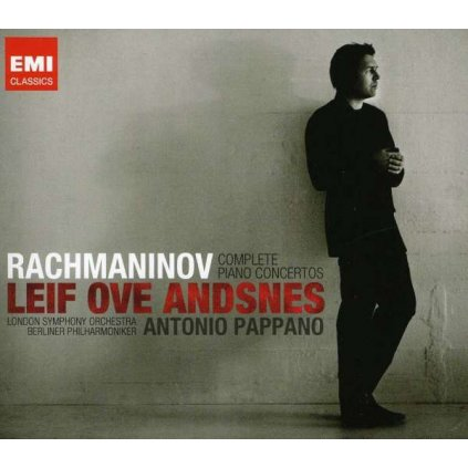 VINYLO.SK | ANDSNES, LEIF OVE ♫ COMPLETE PIANO CONCERTOS [2CD] 5099931938525